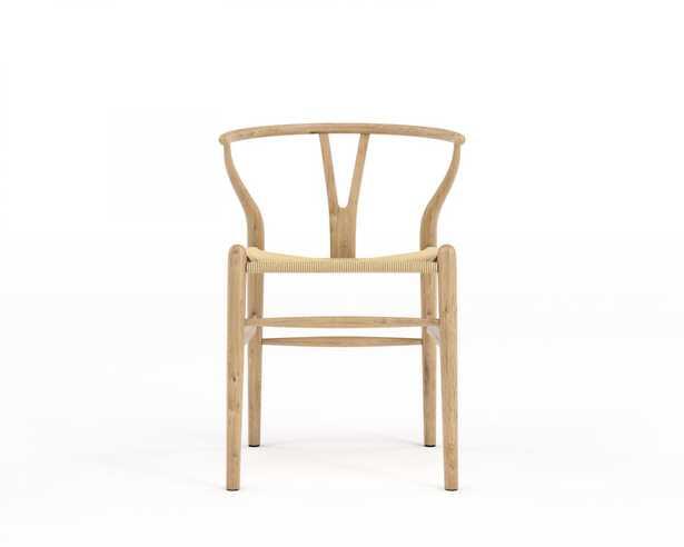 Wishbone Chair - Natural Natural Seat Cord - Rove Concepts