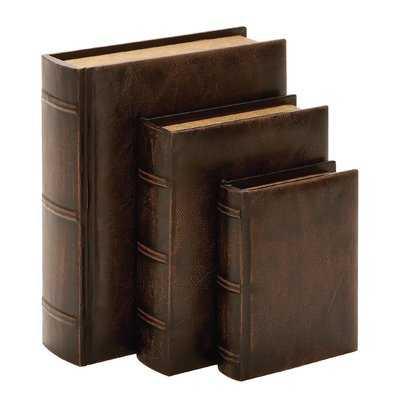 Caius 3 Piece Decorative Box Set - Birch Lane