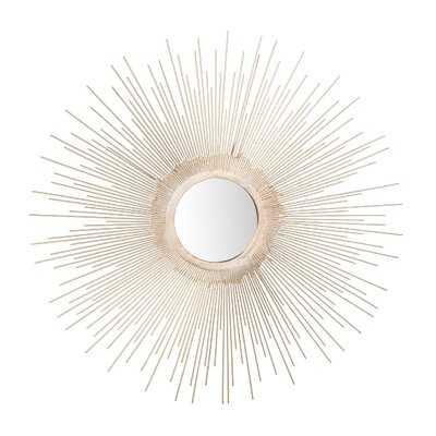 Bertsch Sunburst Glam Accent Mirror - Wayfair