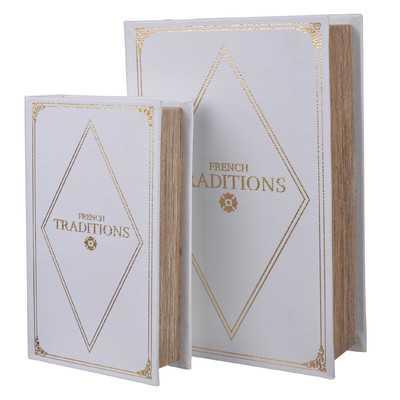 2 Piece Book Box Set - Wayfair