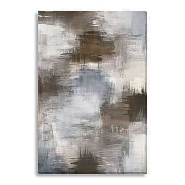 """Canvas Print, Abstract Smudges, 24""""x36"""" - West Elm"""