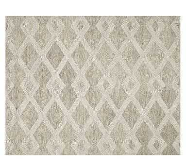 Chase Tufted Rug, 9x12', Natural - Pottery Barn