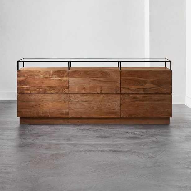 Lawson Low Glass Top Dresser - CB2