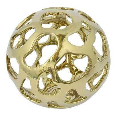 Delvale Ceramic Orb Tabletop - Wayfair
