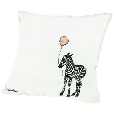 Zebra Throw Pillow - Wayfair