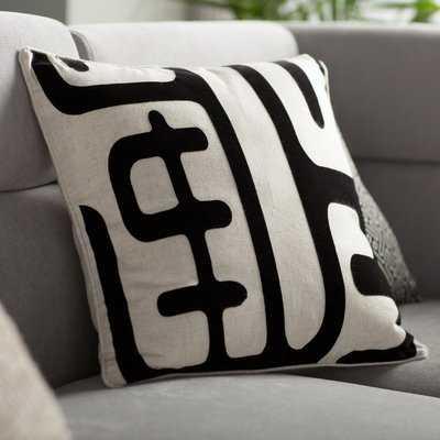 Linen/Cotton Blend Throw Pillow - Wayfair
