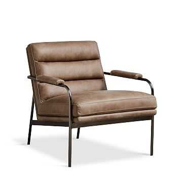 Camden Leather Chair - West Elm