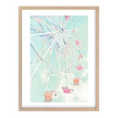 Fair Days 4 Wall Art by Minted(R), 16 x 20, Natural - Pottery Barn Teen