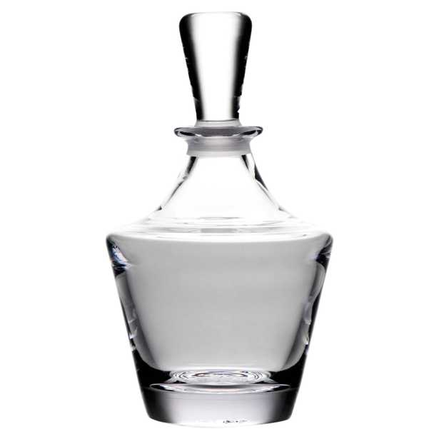 Simon Pearce Modern Classic Bristol Glass Decanter - Kathy Kuo Home