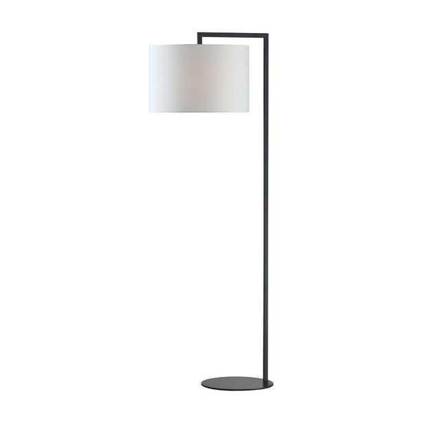 Titan Lighting 59 in. Bronze Stem Floor Lamp - Home Depot