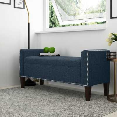 Hulda Hinged Upholstered Storage Bench - Wayfair