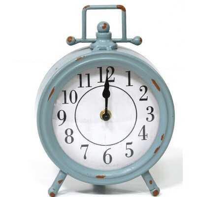 Metal Table Clock - Wayfair