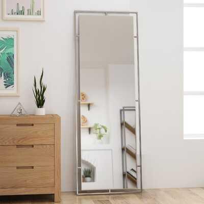 Calvert Modern Rectangular Standing Mirror - Wayfair