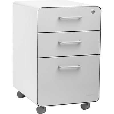 3-Drawer Mobile Vertical Filing  Cabinet - AllModern
