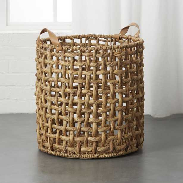 Links Large Natural Basket with Handles - CB2