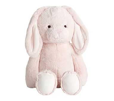 Jumbo Long Eared Easter Bunny Plush, Pink - Pottery Barn Kids