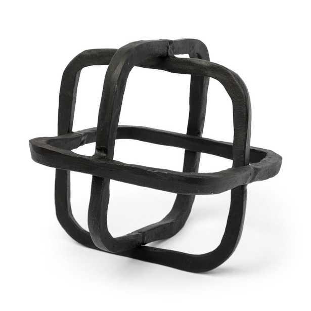 Mercana Willem I (Black) Decorative Object, Matte Black - Home Depot