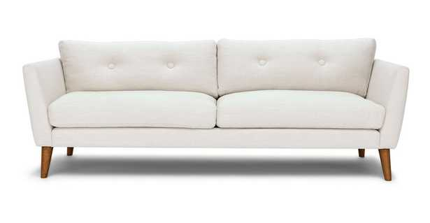 Emil Quartz White Sofa - Article