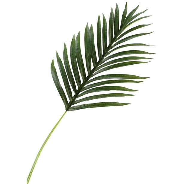 D&W Silks Indoor Medium Hawaiian Palm Leaf (Set of 3) - Home Depot