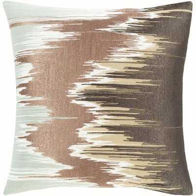 Jereme Modern 18 X 18 Gold, Teal Pillow Cover - Wayfair