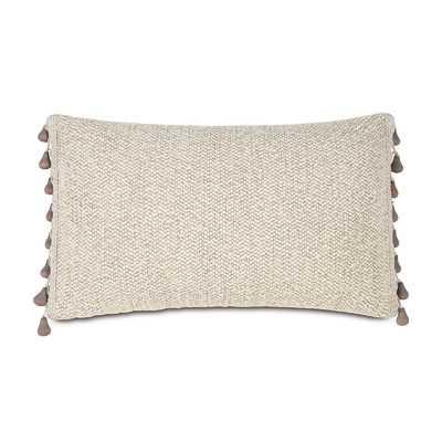 Silas Corfis Vanilla Linen Lumbar Pillow - Wayfair