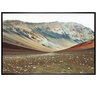 """Haleakala Framed Print by Lupen Grainne, 42 x 28"""", Wood Gallery Frame, Black, No Mat - Pottery Barn"""