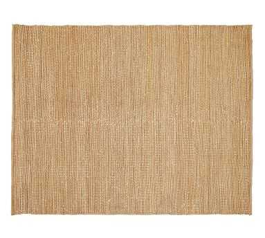 Heathered Chenille Jute Rug, 8x10', Natural - Pottery Barn
