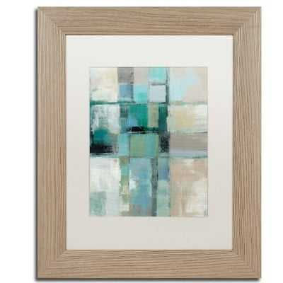 Island Hues Crop II by Silvia Vassileva Framed Painting Print - Wayfair