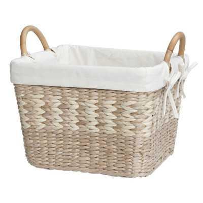 Arcadia Storage Wicker Basket with Liner - Wayfair