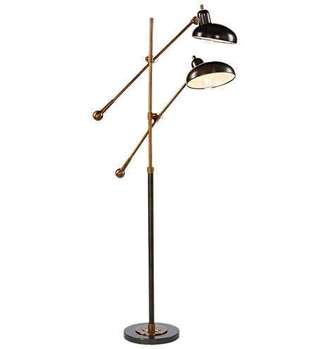 Bruno Double-Arm Floor Lamp - Rejuvenation