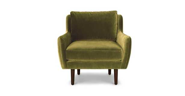 Matrix Olive Green Chair - Article