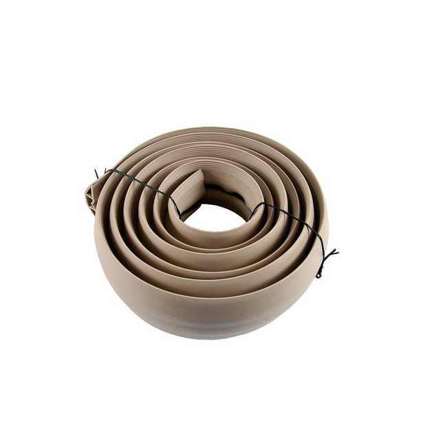 10 ft. Tan PVC Cord Cover - Home Depot