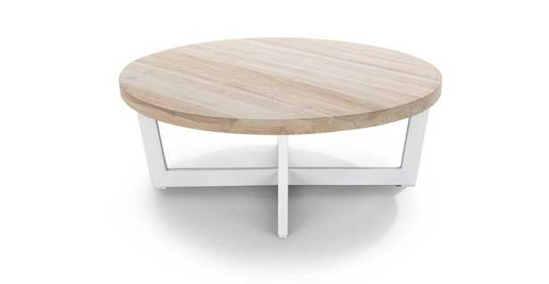 Toba Driftwood Gray Coffee Table - Article