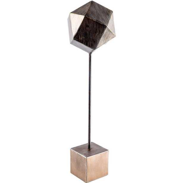 Mercana Axel I (Large) Decorative Object, Brass - Home Depot