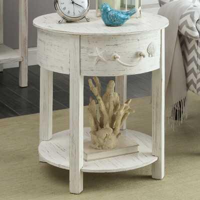 Dudek End Table With Storage - Wayfair