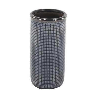 Aquino Contemporary Cylindrical Mesh Design Table Vase - Wayfair