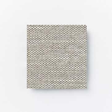 Fabric By The Yard, Performance Basket Slub, Feather Gray - West Elm