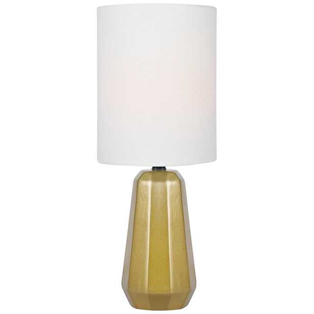 """Lite Source Charna 17 1/2""""H Gold Ceramic Accent Table Lamp - Style # 56J85 - Lamps Plus"""