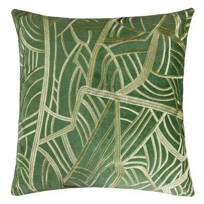 Phinney Embroidery Velvet Throw Pillow - Wayfair