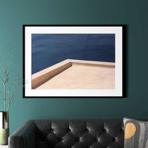 """""""Rooftop with Black Frame 43.5""""""""x31.5"""""""""""" - CB2"""