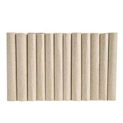 Authentic Decorative Books - By Color Modern Short Cream ColorPak (Wrap) (1 Linear Foot, 10-12 Books) - Wayfair
