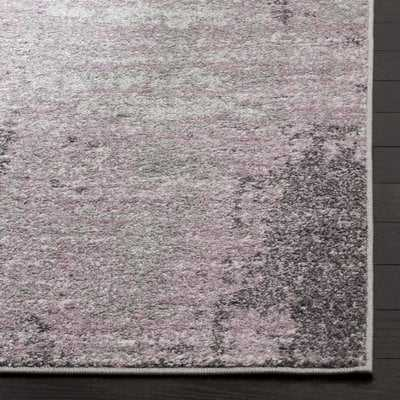 Costa Mesa Light Gray/Purple Area Rug - Wayfair