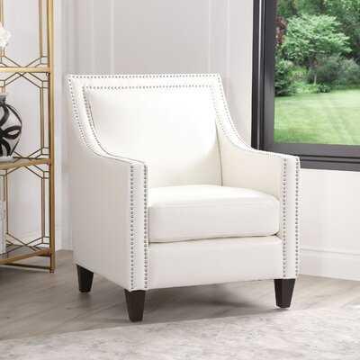 Stahlman Faux Leather Armchair - Wayfair