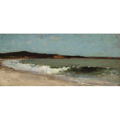 'Study for Eagle Head Manchester Massachusetts' Gallery by Winslow Homer Print of Painting on Wrapped Canvas - Wayfair