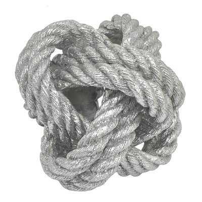 Joubert Rope Knot Tabletop Figurine - Wayfair
