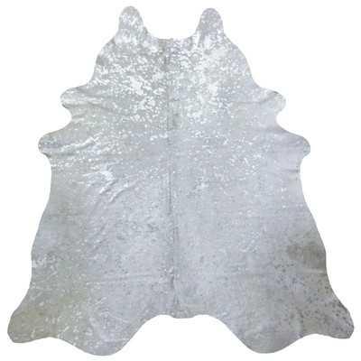 Brazilian Cowhide Silver Area Rug - Wayfair