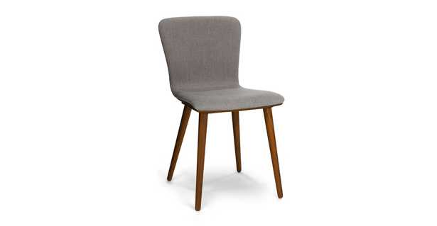 Sede Thunder Gray Walnut Dining Chair (set of 2) - Article