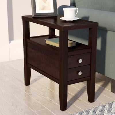 Gahagan End Table With Storage - Wayfair
