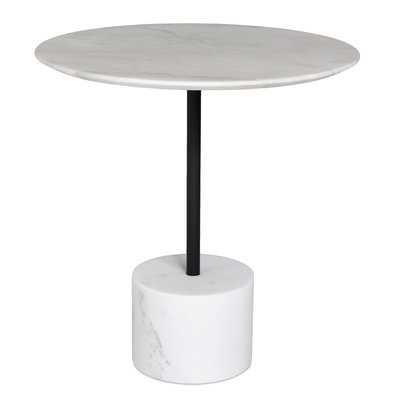 LISA END TABLE MARBLE LARGE - Wayfair