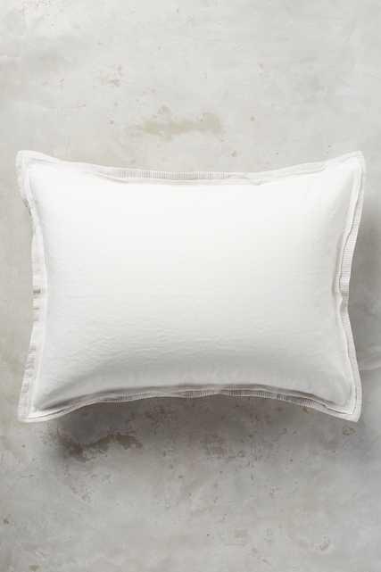 Relaxed Cotton-Linen Shams - Anthropologie